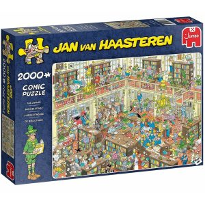 Jan van Haasteren Puzzel 'De bibliotheek' 2000 stukjes