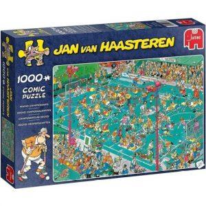 JvH puzzel Hockeykampioenschappen