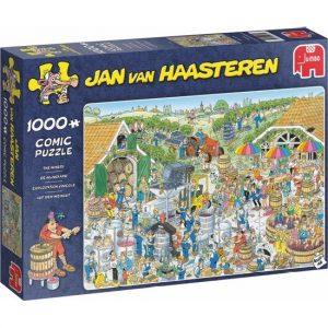 JvH puzzel De Wijngaard