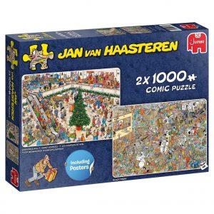 JvH puzzel Kerstmarkt & Black friday