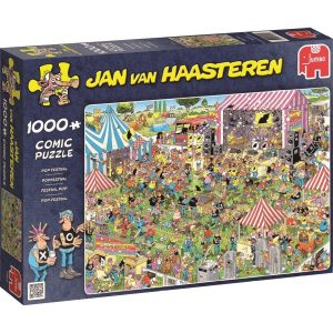 JvH puzzel Pop-festival