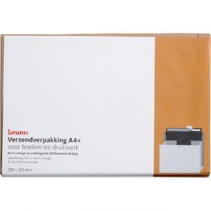 Verzendverpakking Bruna 250x325mm wit