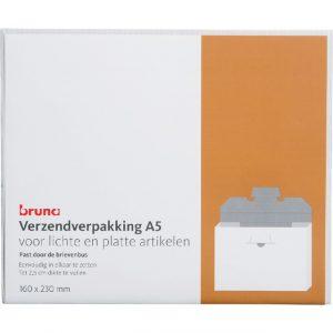 Brievenbusbox Bruna 160x230x26mm wit