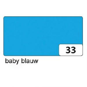 Fotokarton Folia 2zijdig 50x70cm 300gr nr33 babyblauw