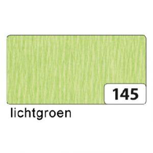 Crepepapier Folia 250x50cm nr145 lichtgroen