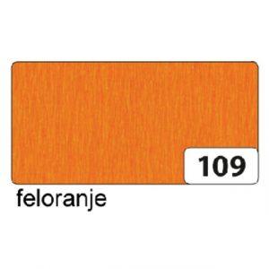 Crepepapier Folia 250x50cm nr109 feloranje