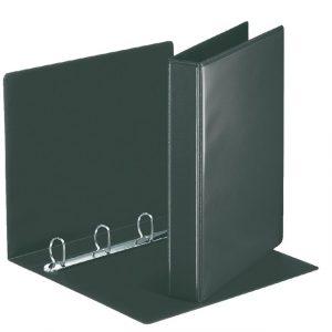 Presentatieringband Esselte A4 4-rings D-mech 25mm zwart