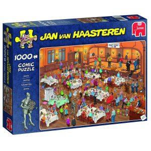 """Jan van Haasteren Puzzel """"Darts"""" 1000 stukjes"""