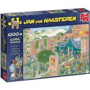 JvH Puzzel De Kunstmarkt