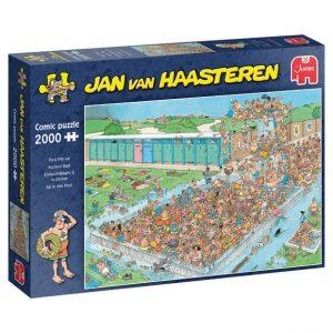 JvH puzzel Zuidpool Bomvol Bad (2000 stukjes)
