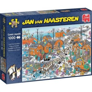 JvH puzzel Zuidpool Expeditie